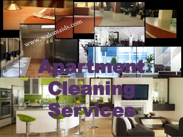 Apartment Cleaning Services; 5.
