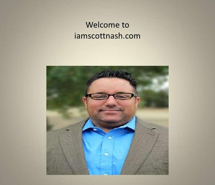 Welcome toiamscottnash.com