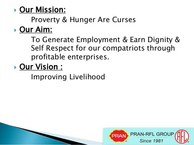 "mission and vision of pran group ""our mission, values and way (mvw)"" is the shiseido group corporate philosophy that every employee of the shiseido group shares regardless of our nationalities or affilates or brands to."