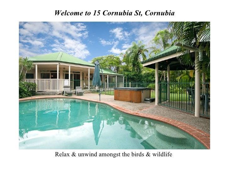 Welcome to 15 Cornubia St, Cornubia Relax & unwind amongst the birds & wildlife
