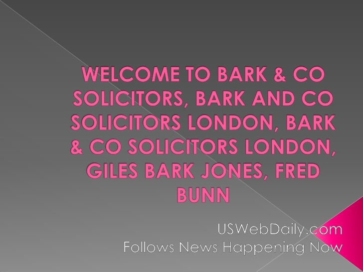    Specialists in complex fraud, serious    crime, regulatory litigation and tax    compliance. At Bark & Co our expert l...