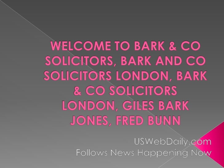   Specialists in complex fraud, serious crime,    regulatory litigation and tax compliance. At    Bark & Co our expert l...