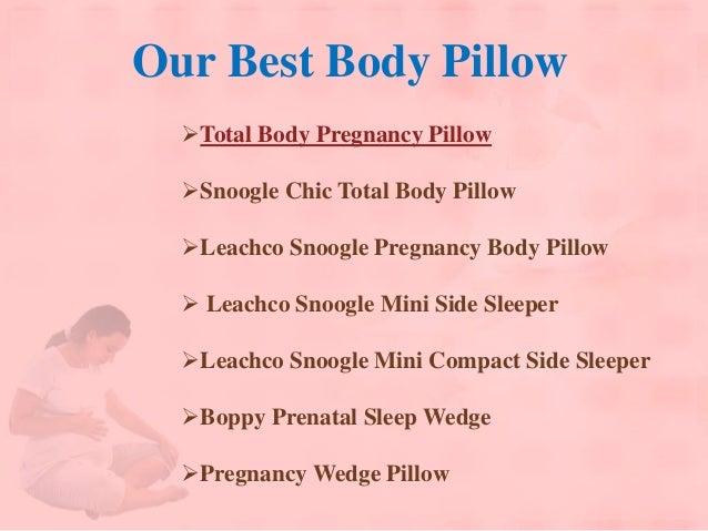 Body Pillow For Pregnancy