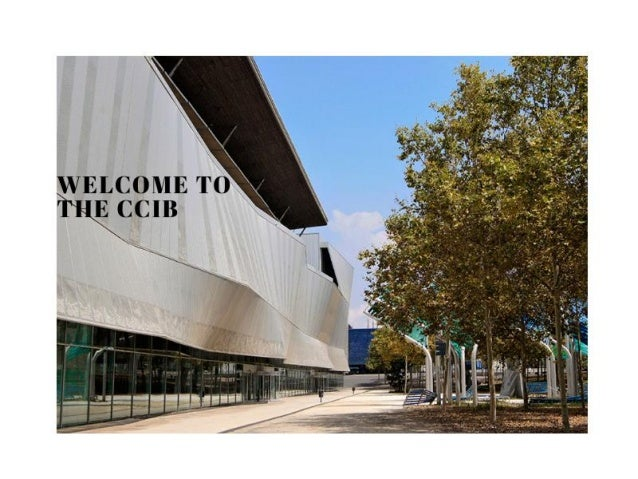 Centre Convencions Internacional Barcelona (CCIB) - MICE Presentation 2019