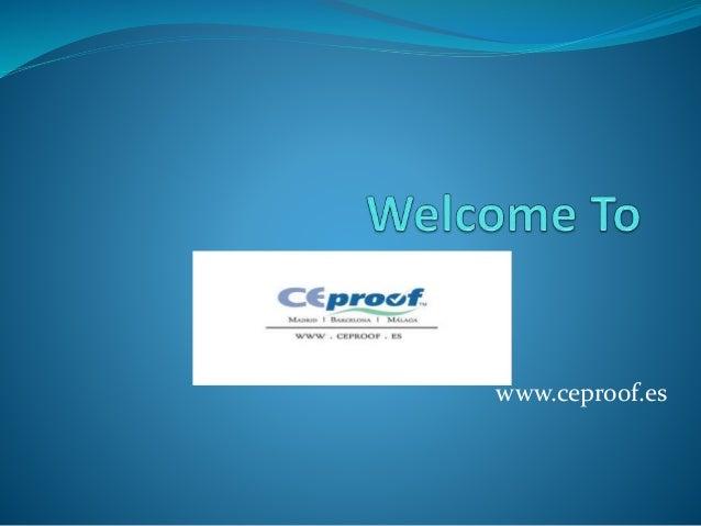 www.ceproof.es