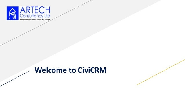 Welcome to CiviCRM