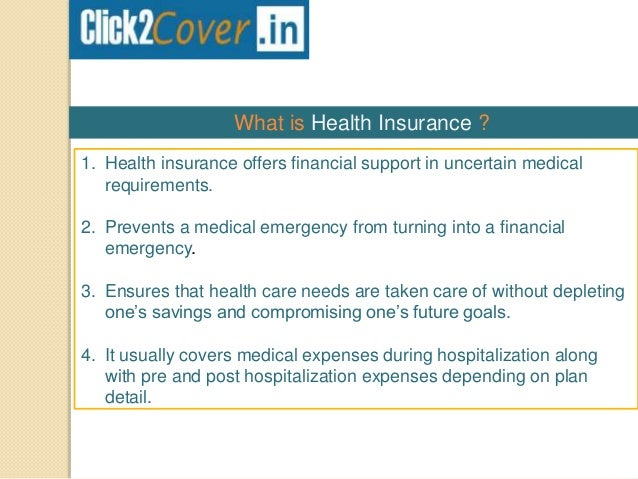 Health Insurance Plans >> Best Health Insurance Plans In India