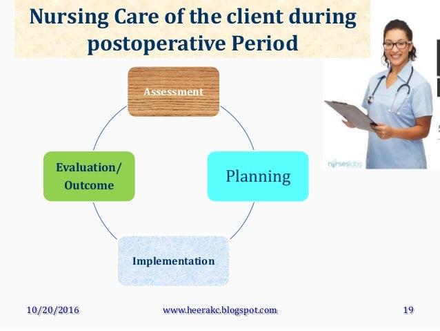 post operative care wikipedia