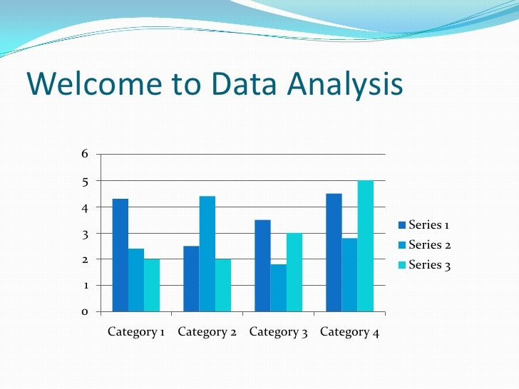 Welcome to Data Analysis<br />