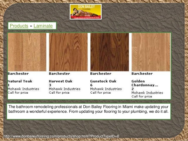 3. Products » Laminate The Bathroom Remodeling Professionals At Don Bailey  Flooring ...