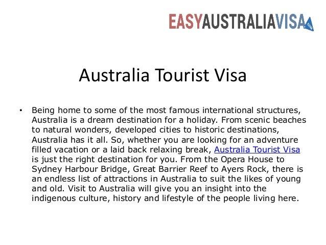 australia visa consultants australia tourist visa