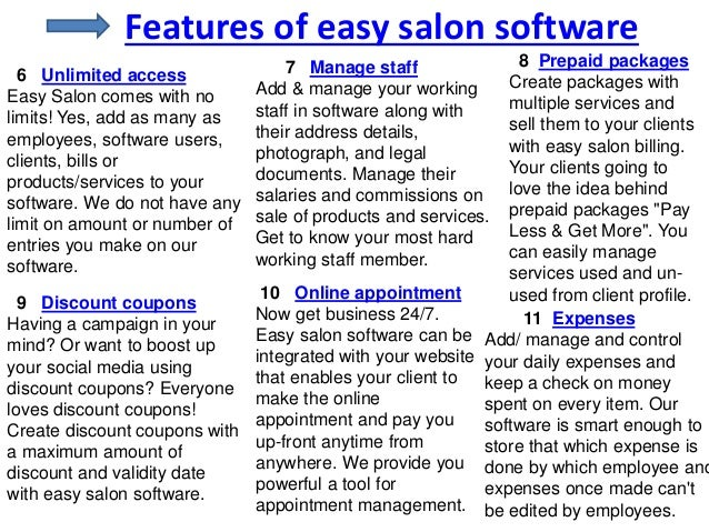 salon billing software free download