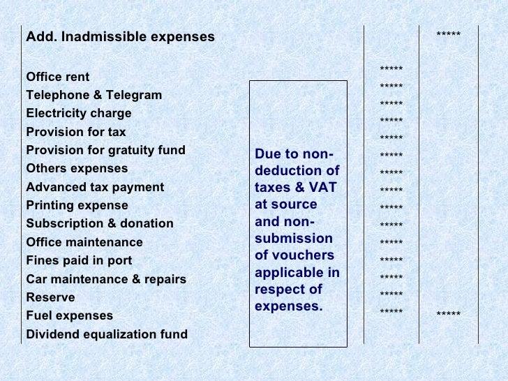 Car Allowance Taxable >> Tax Assessment Procedure