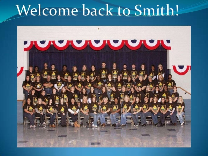Welcome to Fifth Grade!<br />Welcome back to Smith!<br />