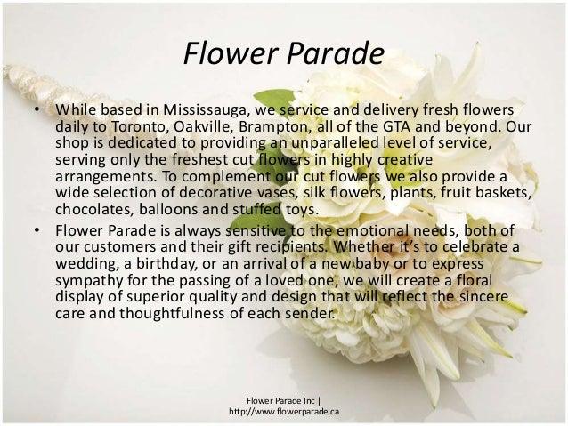 Flower Shops in Mississauga Slide 2