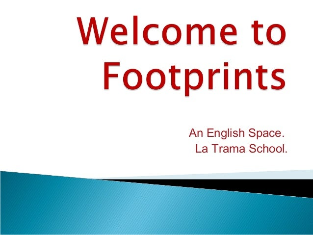 An English Space. La Trama School.