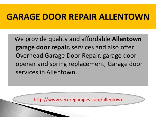 Garage Door Repair Allentown