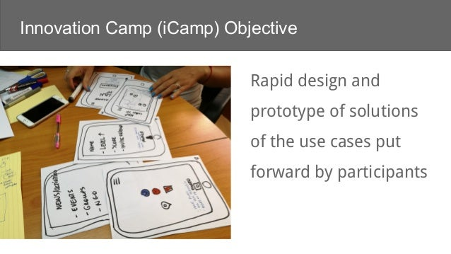 Welcome to iCamp Slide 3