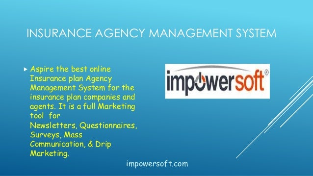Insurance Agency Management Software