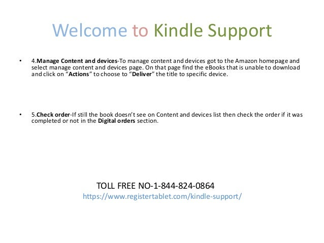 Kindle Books Won't Download