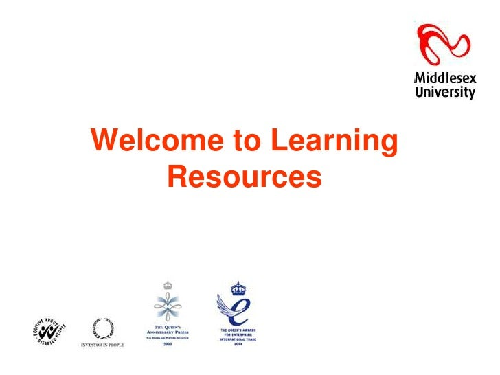 Welcome to Learning Resources<br />