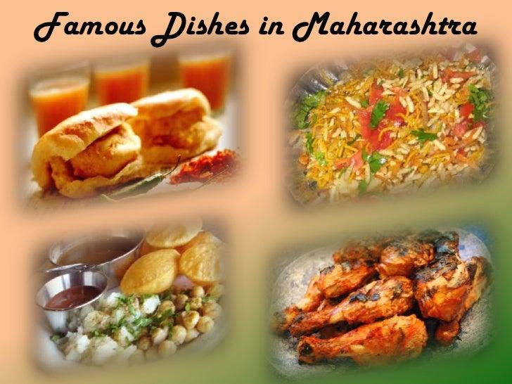 Famous Dishes in Maharashtra