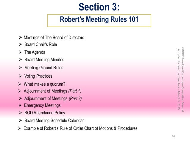 board meeting minutes rules