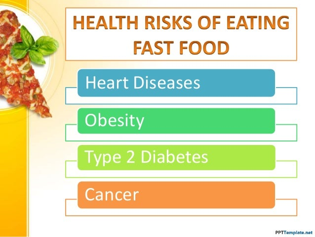 Fast Food Health Risks In America