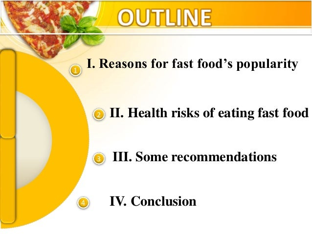 The Health Risks Of Eating Fast Food