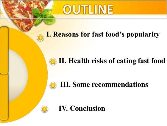 Fast Food Health Risks In America