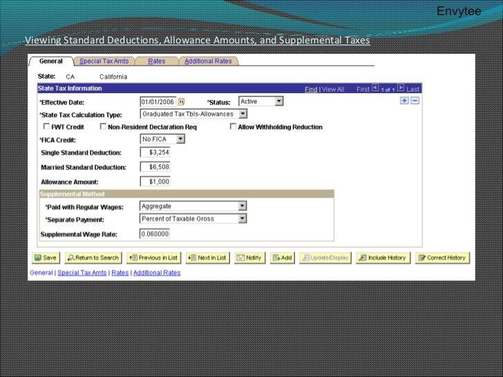 California Payroll Tax Calculator