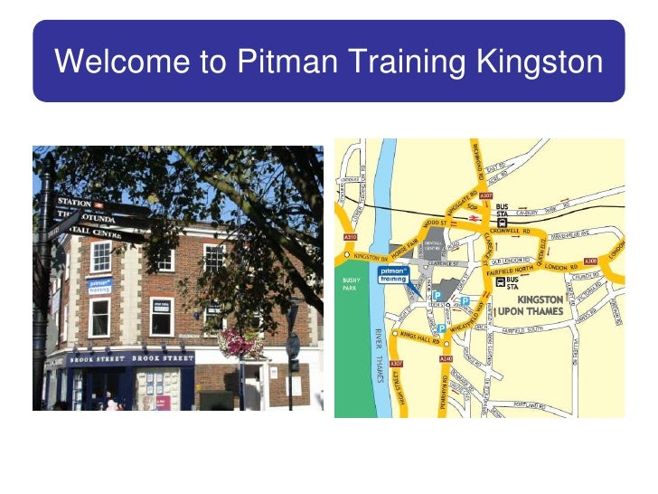Welcome to Pitman Training Kingston<br />