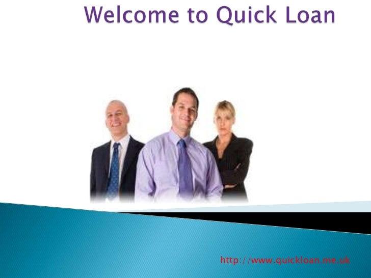 http://www.quickloan.me.uk