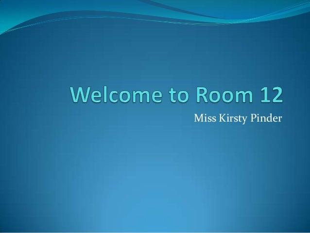 Miss Kirsty Pinder