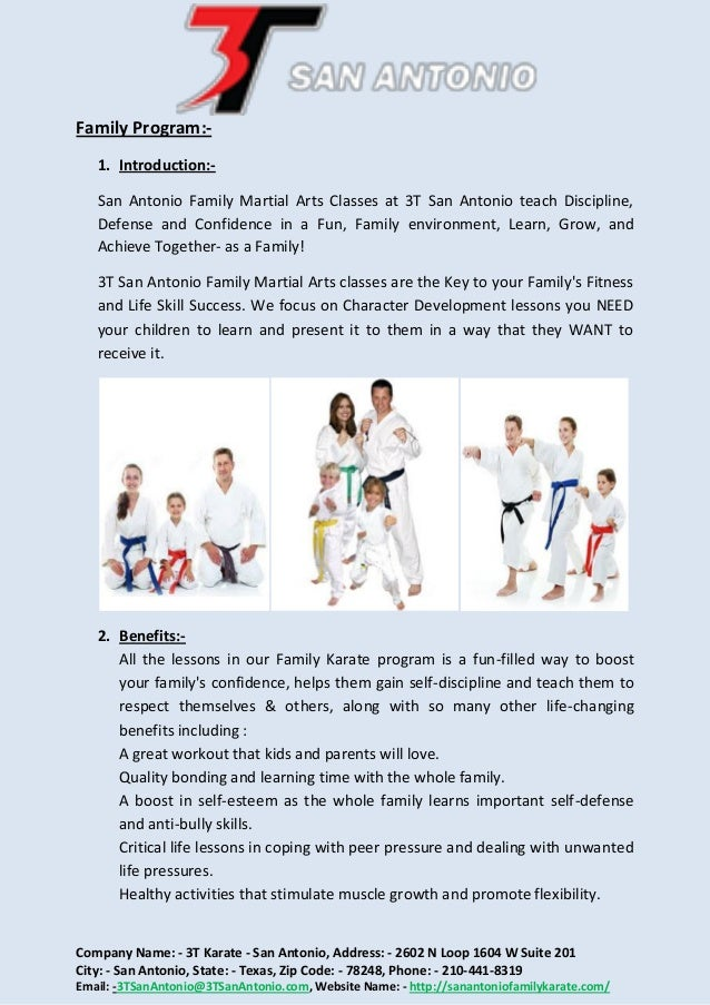 Welcome To San Antonio Family Karate 2