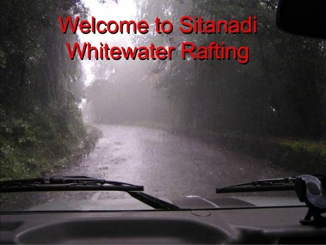 Welcome to SitanadiWelcome to SitanadiWhitewater RaftingWhitewater Rafting