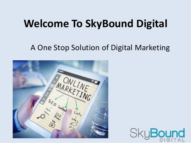Welcome To SkyBound Digital A One Stop Solution of Digital Marketing