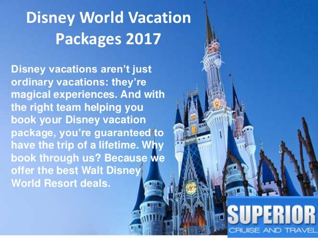 Superior Cruise Travel Agency Boston - Disney trip deals