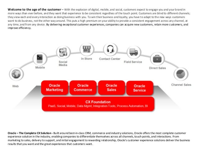 Welcome to the age of the customer – With the explosion of digital, mobile, and social, customers expect to engage you and...