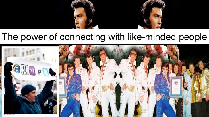 The power of connecting with like-minded people