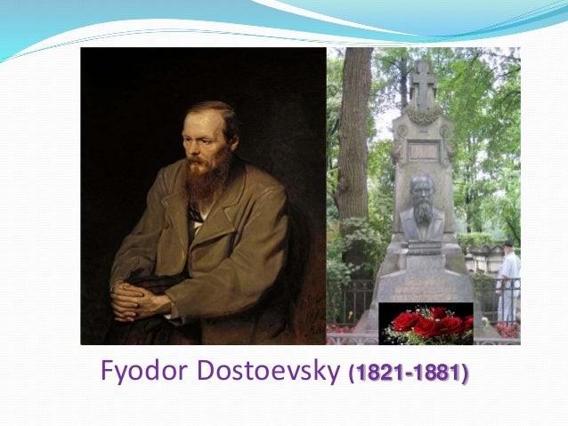 a brief biography and four major novels by fyodor dostoevsky Personal background fyodor mikhailovich dostoevsky was born in 1821, the second of seven children fyodor dostoevsky biography a short work dealing with a split personality and containing the genesis of crime and punishment.