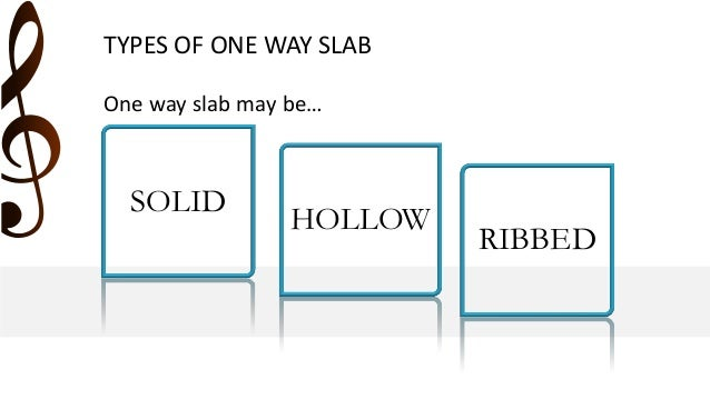 One Way Slab Design