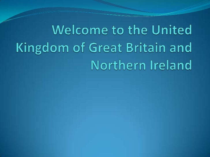 Round the United Kingdom of Great Britain                  and Northern IrelandIt is a well known fact that the United Kin...