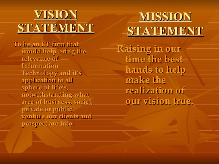 Life mission statement