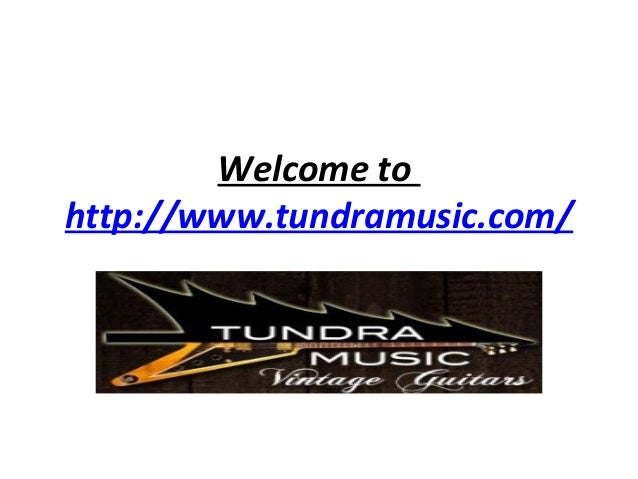 Welcome to http://www.tundramusic.com/