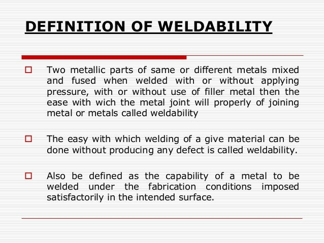 What are welding defects? - Quora welding can be defined as