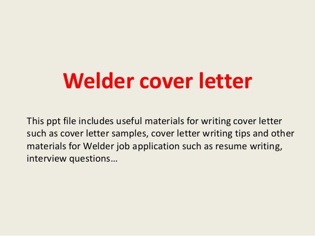 Charming Tags Resume Cover Letter Resume Cover Letter Examples For Welders A SLPSO  Dravit Si