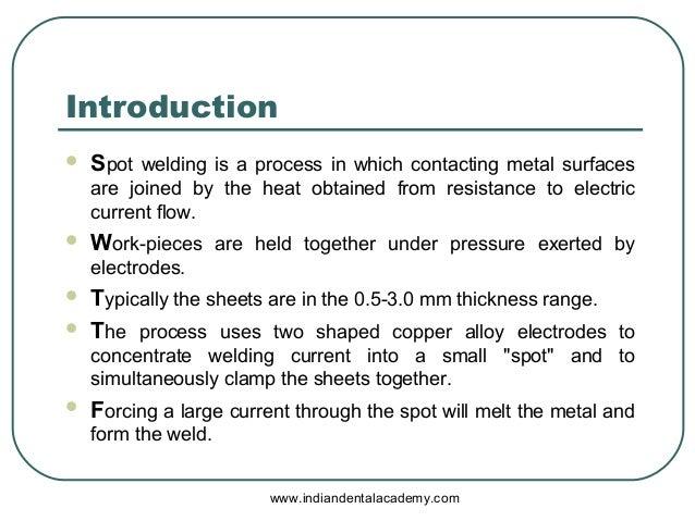 Introduction to Spot Welding | Yaskawa Academy Toronto introduction to spot welding