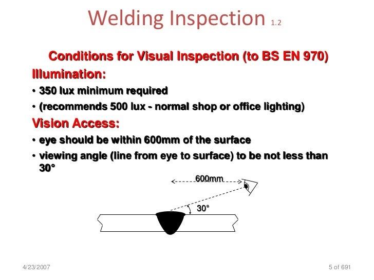 Welding Inspection Cswip