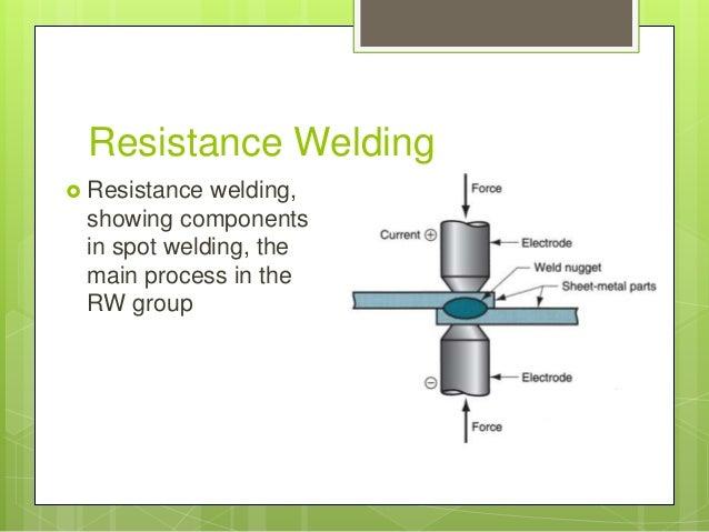 Resistance Welding - Definition, Principle, Working and Application - The Welding Master resistance welding processes